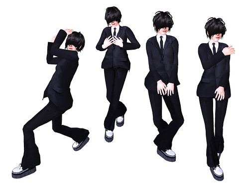 SLC modeling pose set(NUDITY2)