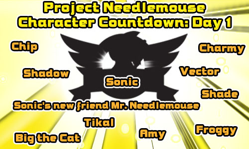 Project Needlemouse Characters... Or Not!