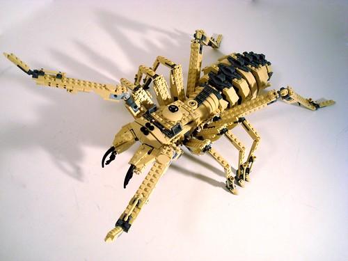 LEGO lino battle bug camel spider