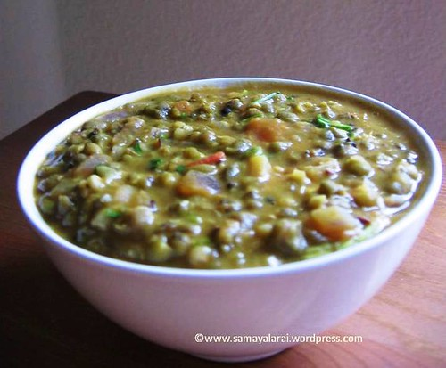Mung Bean Tadka