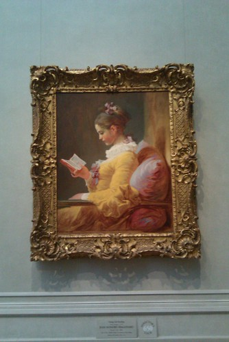 Fragonard's Young Girl Reading 1