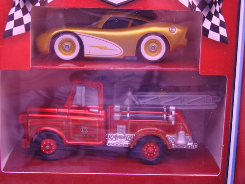 CARS Blu RAY diecast Gift Set