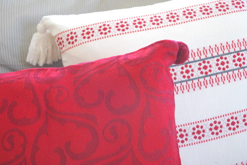 Decorative Christmas pillows