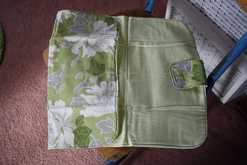 Changing Pad Sewn by Me