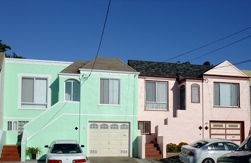 Every Day is a Happy Saint Patrick's Day in The Outer Sunset green pink 2