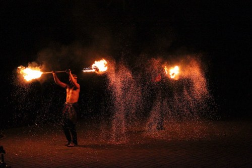 Fire Dancers at Tribu K' Mindanawan