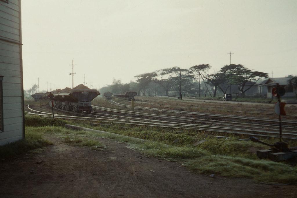 Rail Yard next to the Demba Head Office, MacKenzie, Guyana