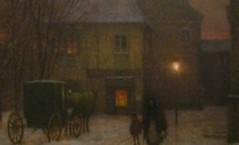 Praha romantická. Plynové osvětlení ulic na počátku 20. století v podání Jakuba Schikanedera