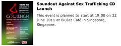 SoundOut Against Sex Trafficking music CD launch