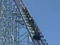 Cedar Point - Millennium Force Stuck