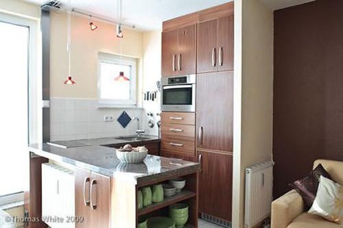 Katie's tiny kitchen Apartment Therapy