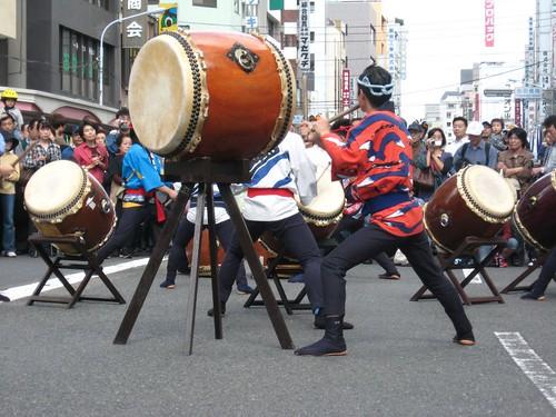Street performers.