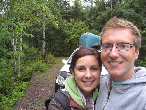Canoeing and camping in MN