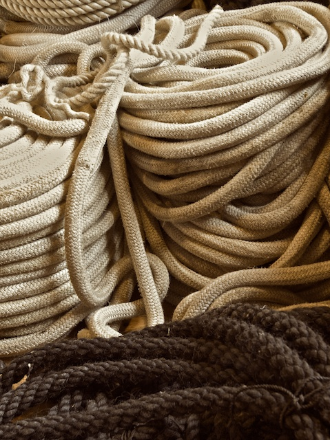 Still life with rope
