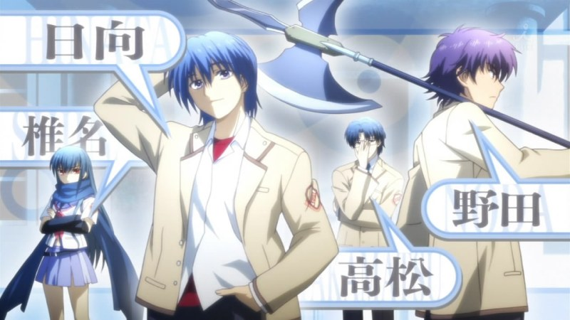 Angel Beats! OP ED - 05