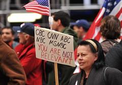 Protest Rally Against Mainstream Media -   Tim...