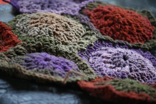 Crochet Hex Afghan