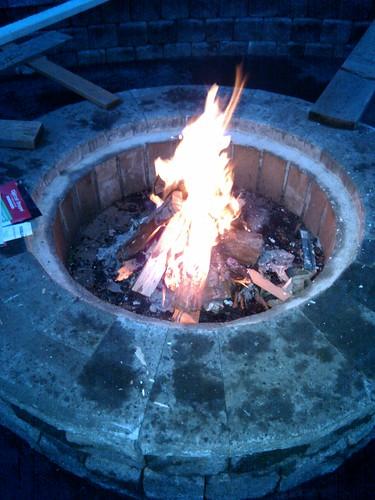 Fire in February