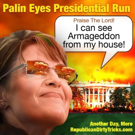 Sarah Palin Eyes Presidential Run Image