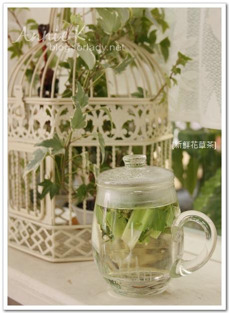 新鮮花草茶