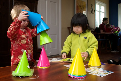 Sorting Party Hats with Isabella