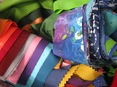 Jelly Roll Fabric Galore
