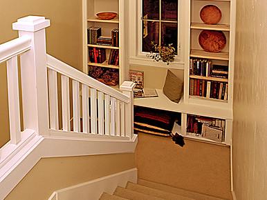 stairwell storage Cottage Company