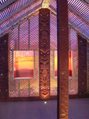 Maori House at Taupo Museum