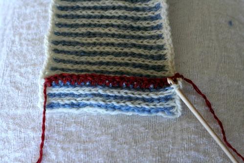 Crochet Steek Reinforcement