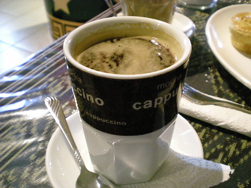 Deli Cafe black coffee