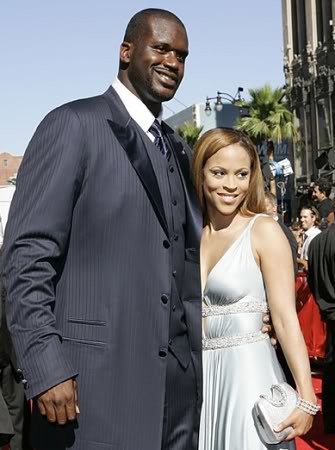 Shaunie and Shaquille O'Neal