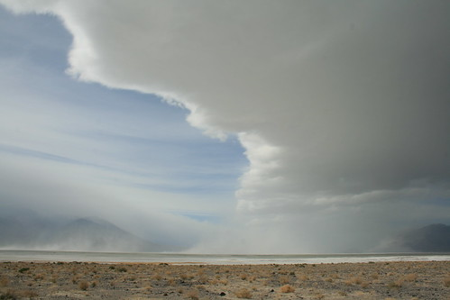 Owen's Lake Alkali Dust Storm