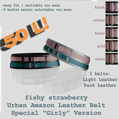 Fishy Strawberry - Urban Amazon Belt - Girly