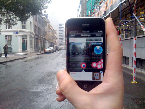 augmented reality on iphone