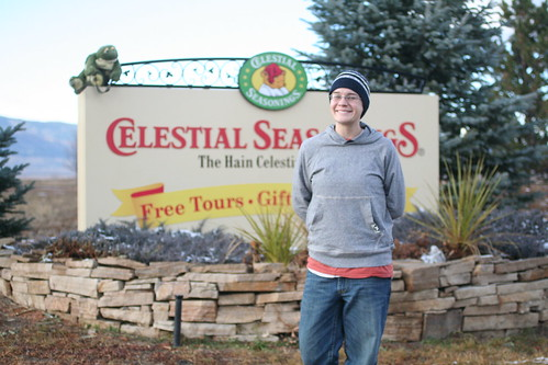 Shanna at Celestial Seasonings in Boulder, Co