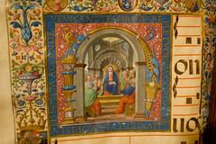 Illuminated Hymnal, Detail