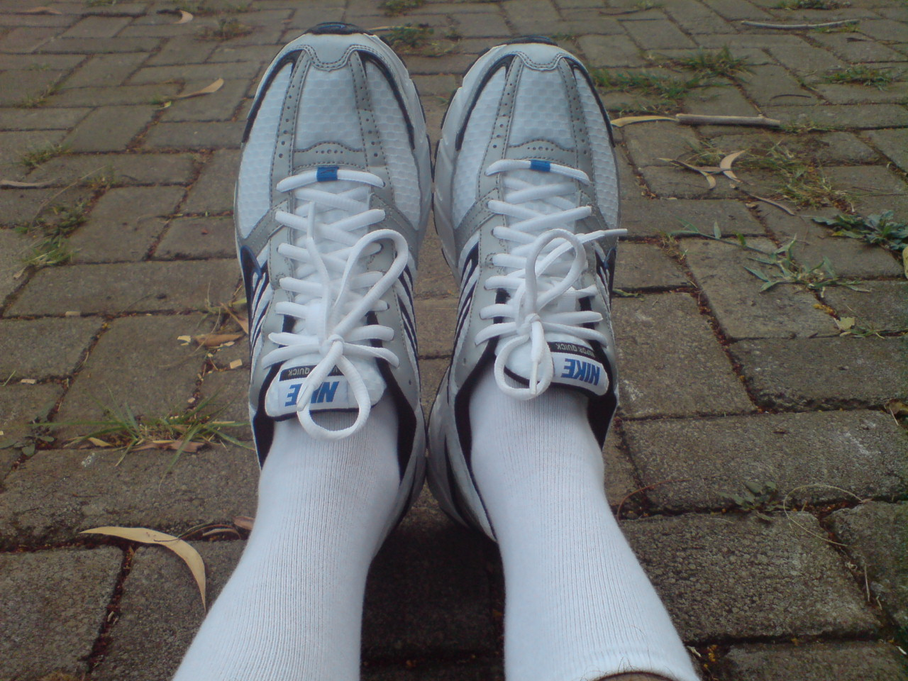 Selonjoran after Jogging