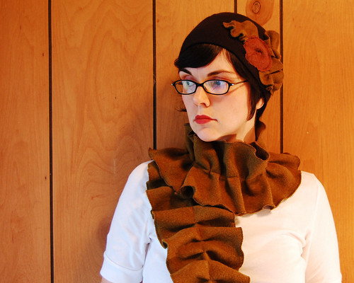 The kelp scarf.