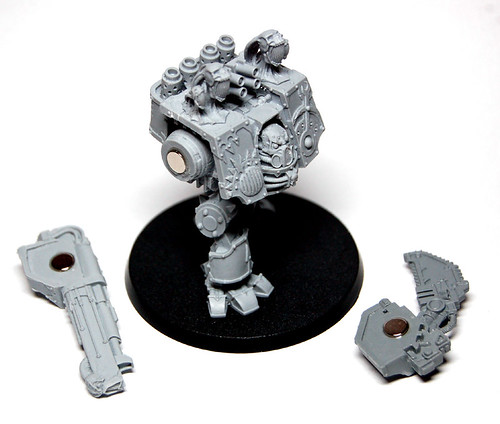 Magnetised Weapon Arms