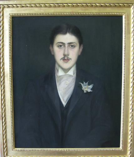Jacques-Emile Blanche, Portrait de Marcel Proust, 1892