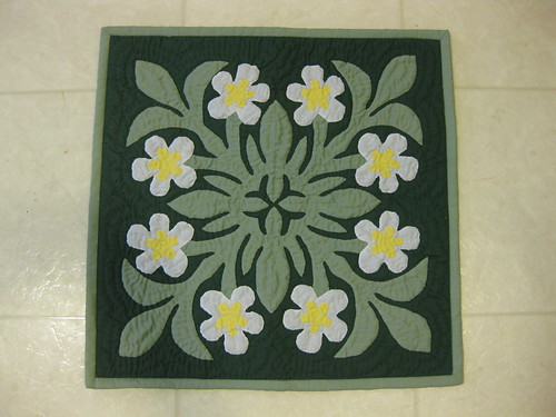 Hawaiian Quilted Pillow Slip