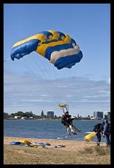 Parachute drop over Clontarf-7
