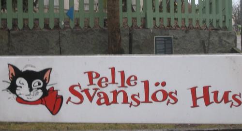 Pelle Svanslös Hus, Uppsala
