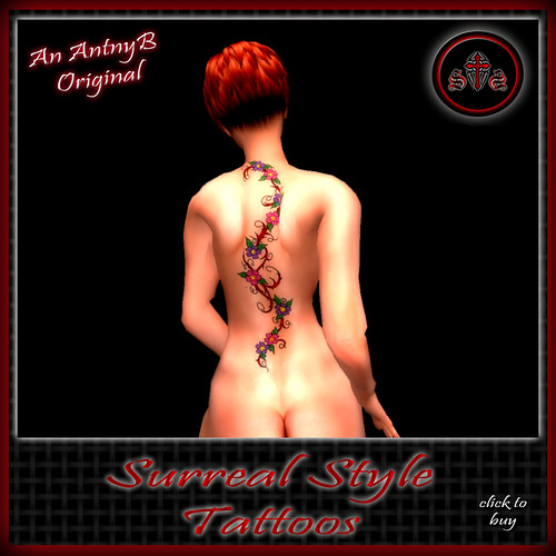 ::SS:: Flowering Vine Tattoo