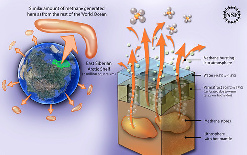 Permafrost methane of the East Siberian Arctic Shelf by vinny12.