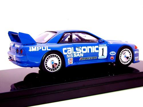 EBBRO CALSONIC SKYLINE R32 JGTC 1994 (6)