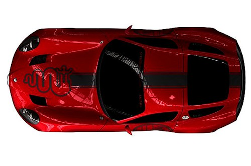 INCOMING !! NEW METAL FROM ZAGATO - ALFA ROMEO CONCEPT TZ3 CORSA 001