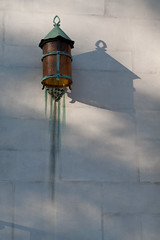 Lamp on Wall of Church
