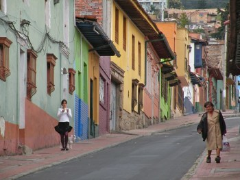 Old Colonial Houses Bogota