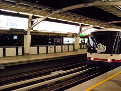 Skytrain Entering Nana Station